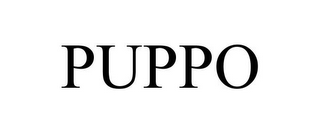 mark for PUPPO, trademark #88088916