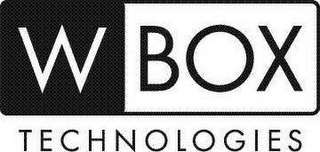 mark for W BOX TECHNOLOGIES, trademark #88105240