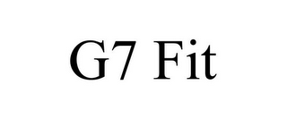 mark for G7 FIT, trademark #88109185