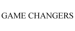 mark for GAME CHANGERS, trademark #88127152