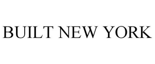 mark for BUILT NEW YORK, trademark #88149719