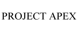 mark for PROJECT APEX, trademark #88153206