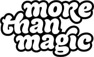 mark for MORE THAN MAGIC, trademark #88249868