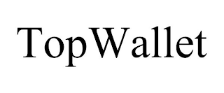 mark for TOPWALLET, trademark #88251998