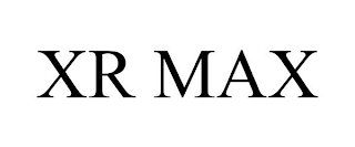 mark for XR MAX, trademark #88303349