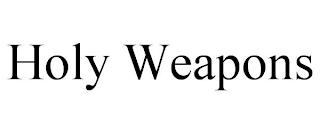 mark for HOLY WEAPONS, trademark #88312202