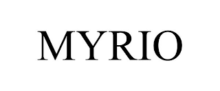 mark for MYRIO, trademark #88312313