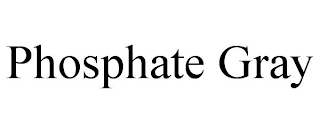 mark for PHOSPHATE GRAY, trademark #88367107
