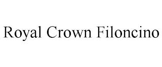mark for ROYAL CROWN FILONCINO, trademark #88417661