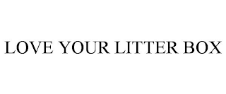 mark for LOVE YOUR LITTER BOX, trademark #88453707