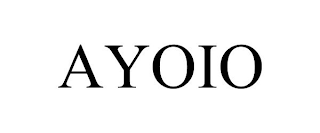mark for AYOIO, trademark #88518894
