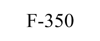 mark for F-350, trademark #88581067