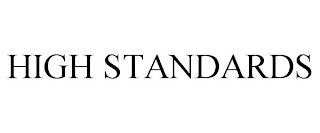 mark for HIGH STANDARDS, trademark #88583753