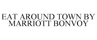mark for EAT AROUND TOWN BY MARRIOTT BONVOY, trademark #88592996