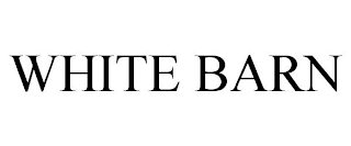 mark for WHITE BARN, trademark #88597512