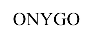 mark for ONYGO, trademark #88640409