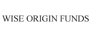mark for WISE ORIGIN FUNDS, trademark #88663240