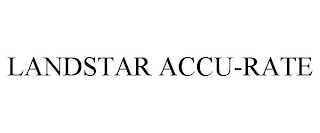 mark for LANDSTAR ACCU-RATE, trademark #88663350