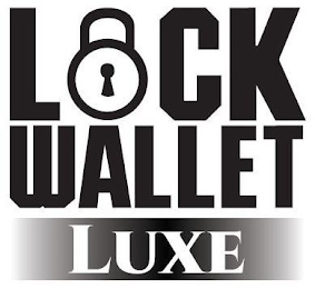 mark for LOCK WALLET LUXE, trademark #88693959