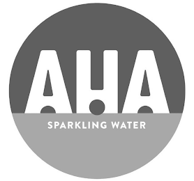 mark for AHA SPARKLING WATER, trademark #88723471