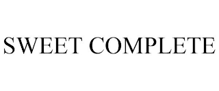 mark for SWEET COMPLETE, trademark #88770225