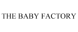 mark for THE BABY FACTORY, trademark #88823236