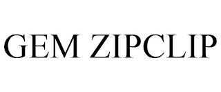 mark for GEM ZIPCLIP, trademark #88841104