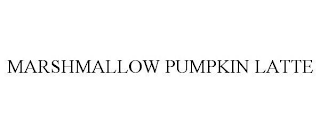 mark for MARSHMALLOW PUMPKIN LATTE, trademark #88976269