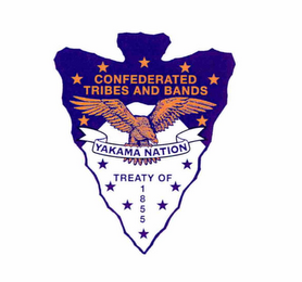 mark for CONFEDERATED TRIBES AND BANDS YAKAMA NATION TREATY OF 1855, trademark #89001558