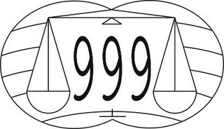 mark for 999, trademark #89001875